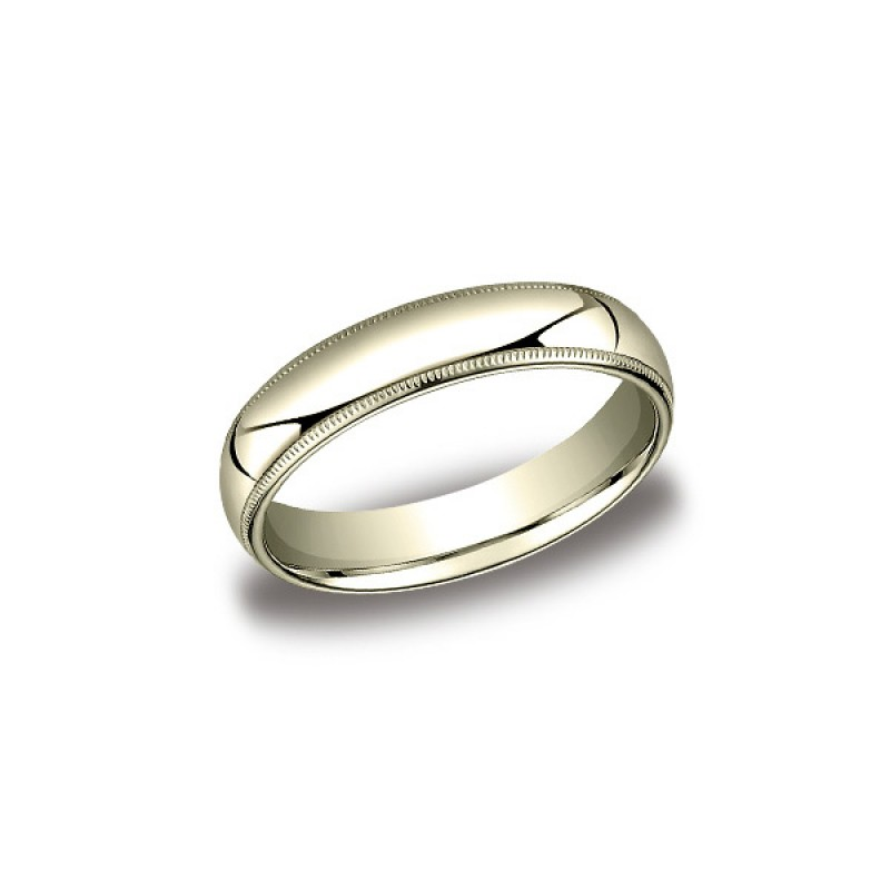 Classic Yellow Gold 5mm Band