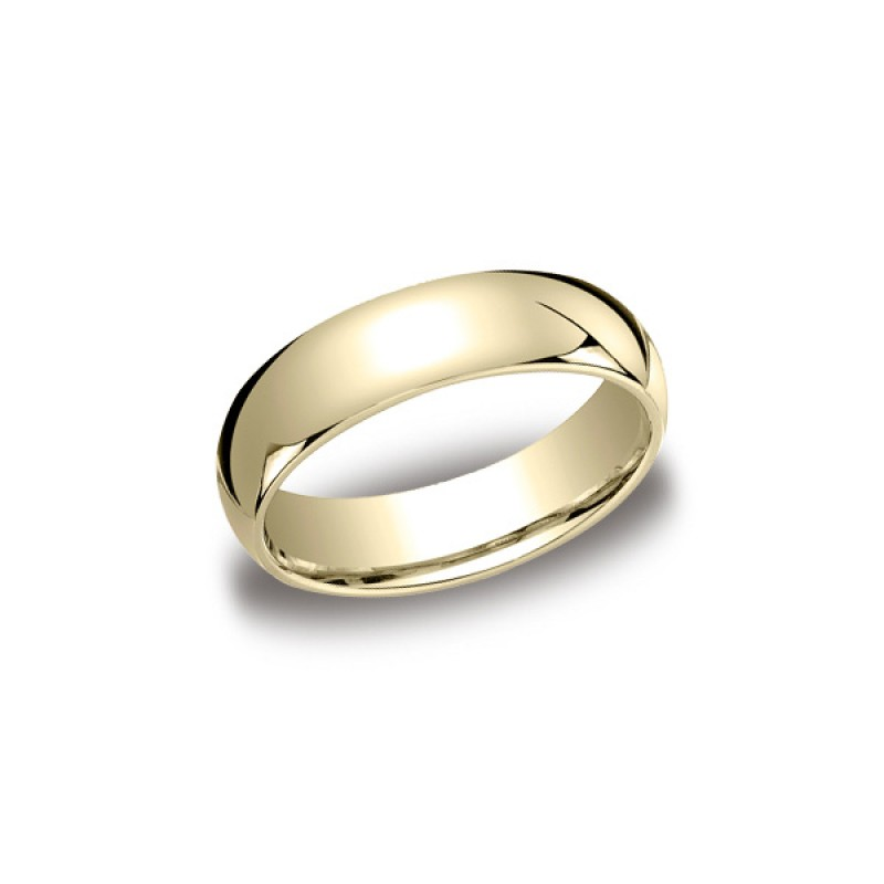 Classic Yellow Gold 6mm Band