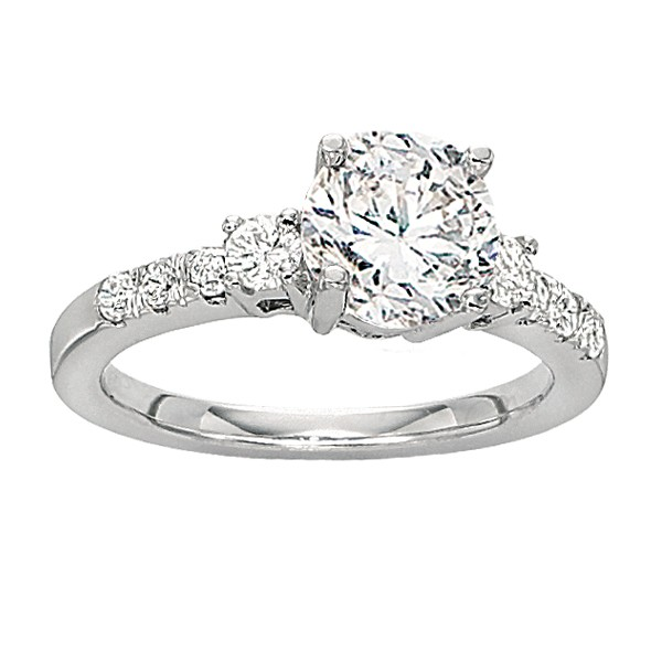  Gabriel &amp; Company  Diamond Engagement Ring W-ER3732D4