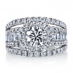 MARS 25625 Diamond Engagement Ring 2.27 Ctw.