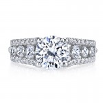 MARS 25734 Diamond Engagement Ring 1.02 Ctw.