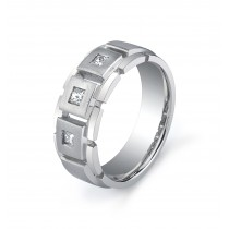 Ninacci Designs Mens Diamond Band