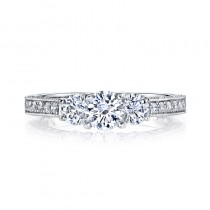 MARS 25472 Diamond Engagement Ring 0.95 Ctw.