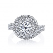 MARS 25635 Diamond Engagament Ring  1.10 Ctw.