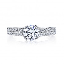 MARS 26245 Diamond Engagement Ring 0.55 Ctw.