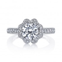 MARS 26549 Diamond Engagement Ring 0.58 Ctw.