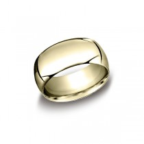 Classic Yellow Gold 10mm Band