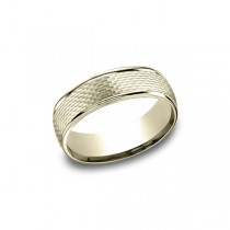 Designs Yellow Gold 7.5mm Band