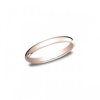Classic Rose Gold 2.5mm Band
