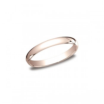 Classic Rose Gold 3mm Band