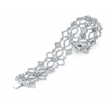 Ninacci Design Diamond Tennis Bracelet
