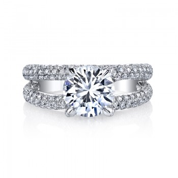 MARS 25277 Diamond Engagement Ring 1.16 Ctw.