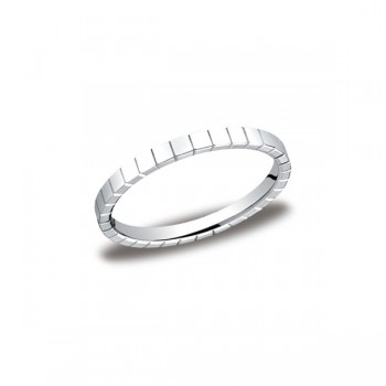 Designs White Gold 2mm Band