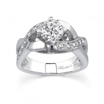 Engagement Ring Setting - 6803LW