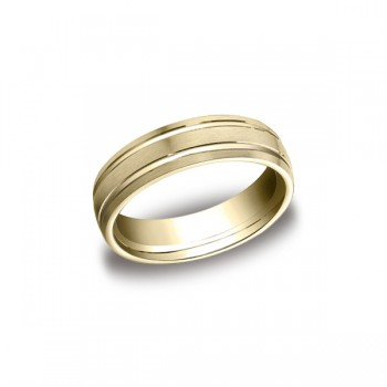 Designs Yellow Gold 7mm Band