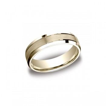 Designs Yellow Gold 6mm Band