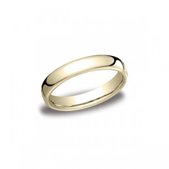 Classic Yellow Gold 4.5mm Band