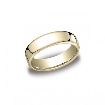 Classic Yellow Gold 6.5mm Band