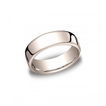 Classic Rose Gold 7.5mm Band