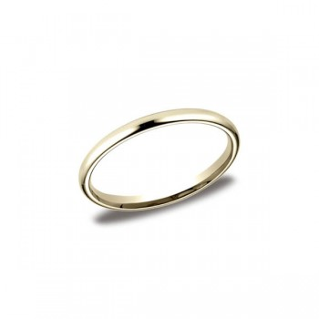 Classic Yellow Gold 2mm Band