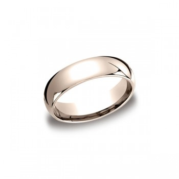Classic Rose Gold 6mm Band