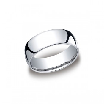 Classic White Gold 8mm Band