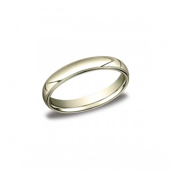 Classic Yellow Gold 4mm Band