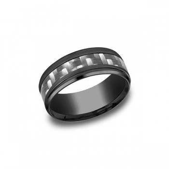 Forge Black Titanium 9mm Band
