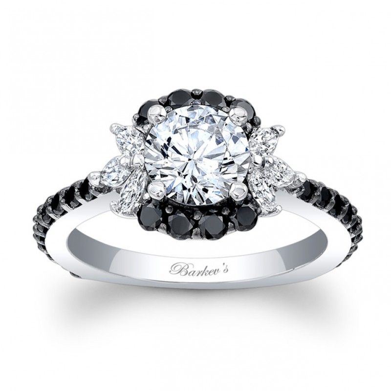 products artemer rings pear engagement with on diamond black halo half ring alternative hand