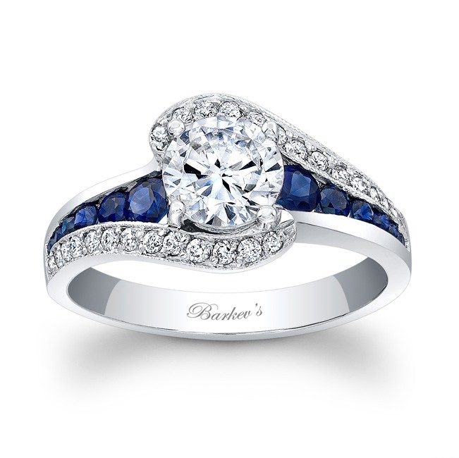 barkev 39 s blue sapphire engagement ring 7898lbsw