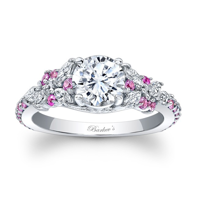 Pink Shire Engagement Ring