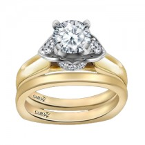 Caro74 14K Yellow Gold Diamond Engagement Ring Setting CR142WY