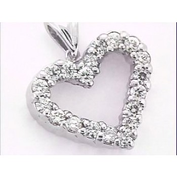 Ninacci Design Diamond Heart Pendant