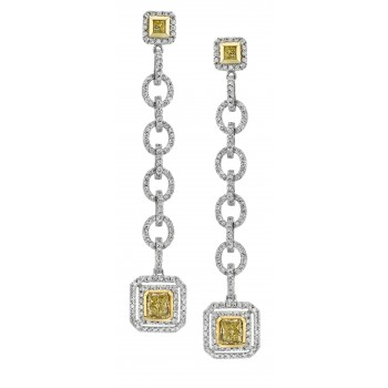 Fancy Diamond Earrings