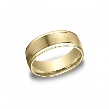 Designs Yellow Gold 8mm Band